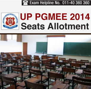 UP PGMEE 2014 Seats Allotment