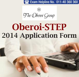 Oberoi- STEP 2014 Application Form