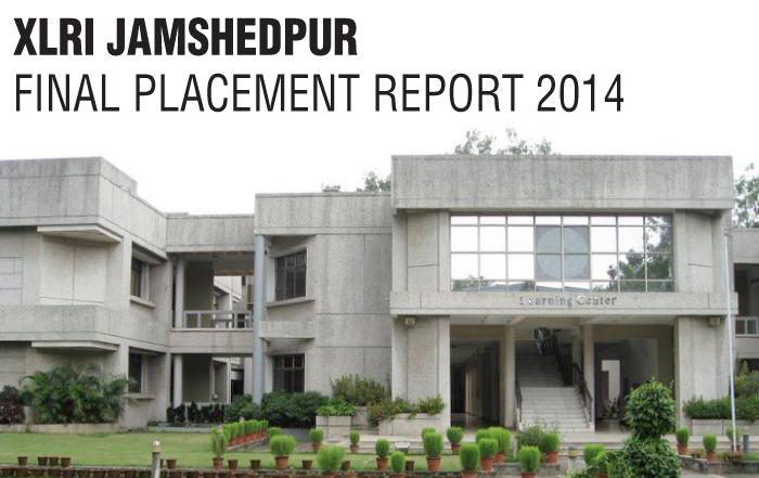Xlri Jamshedpur Placement 2014