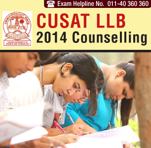 CUSAT LLB Entrance 2014 Counselling