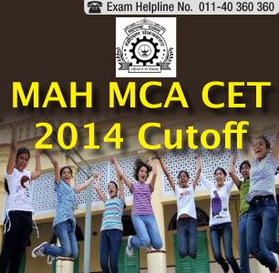MAH MCA CET 2014 Cutoff