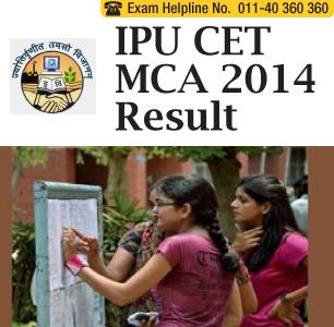 IPU CET MCA 2014 Result