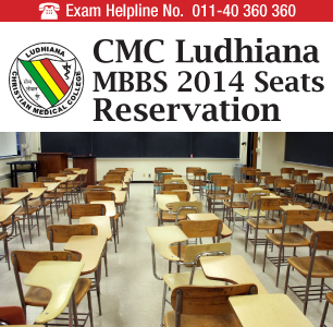 CMC Ludhiana MBBS 2014 Seats
