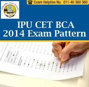 IPU CET BCA 2014 Paper Pattern