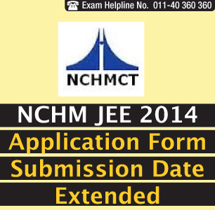 NCHM Application Form Extended till April 11