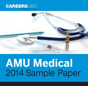 AMU Medical 2014 Sample Paper