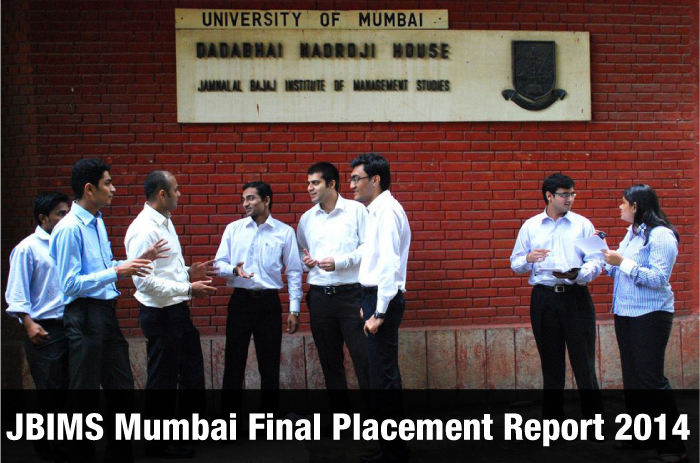 JBIMS Mumbai Final Placement 2014: BFSI sector highest recruiter