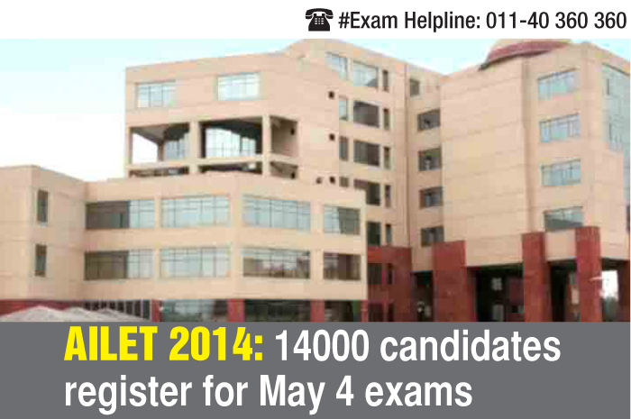 AILET 2014: 14000 candidates register for May 4 exams