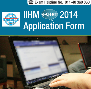 IIHM e-CHAT 2014 Application Form