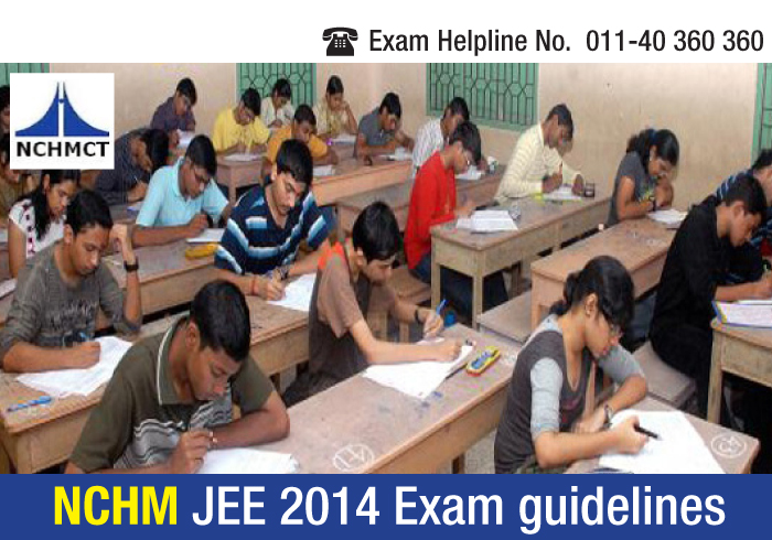 NCHM JEE 2014 Exam Day Guidelines; Toppers offer exam tips