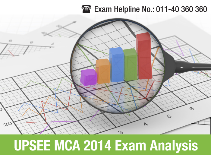 UPSEE MCA 2014 Overall Exam Analysis
