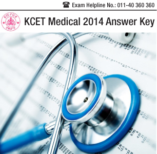 KCET Medical 2014 Answer Key
