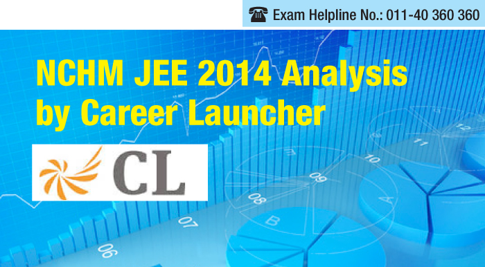 NCHM JEE 2014 Analysis by Career Launcher