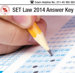 SET Law 2014 Answer Key