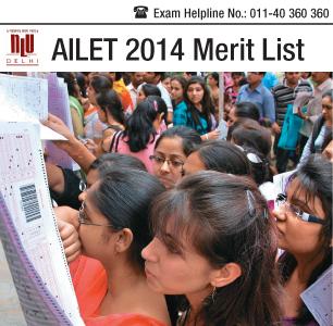 AILET 2015 Merit List