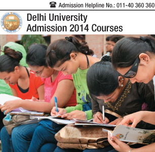 Delhi University Courses 2014
