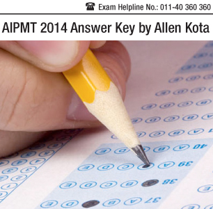 AIPMT 2014 Answer Key by Allen Kota