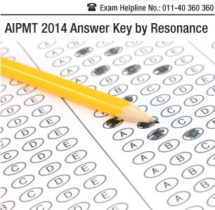 AIPMT 2014 Answer Key by Resonance