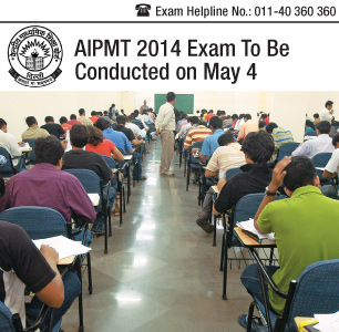 AIPMT 2014 Exam to be conducted on May 4