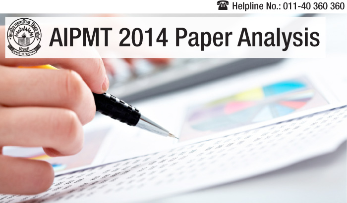 AIPMT 2014 Exam Analysis