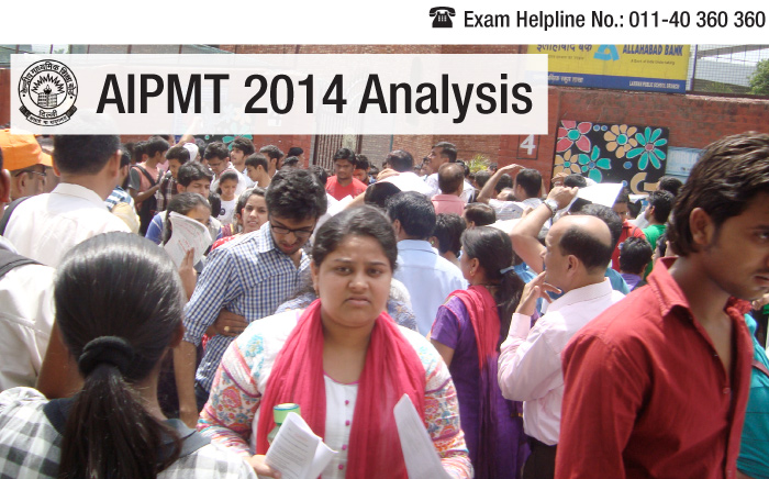 AIPMT 2014 Exam Analysis: Physics tough, overall difficulty level modest