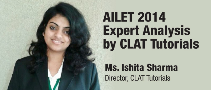 AILET 2014 Analysis by CLAT Tutorials