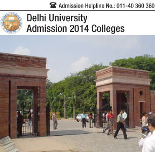 Delhi University Colleges 2014