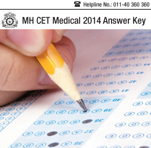 MH CET Medical 2014 Answer Key