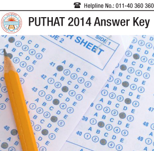 PUTHAT 2014 Answer Key