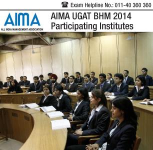 AIMA UGAT BHM 2014 Participating Institutes