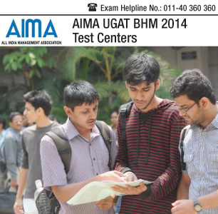 AIMA UGAT BHM 2014 Test Center