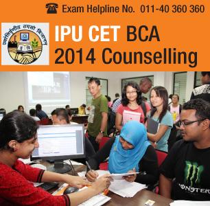 IPU CET BCA 2014 Counselling
