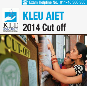 KLEU AIET 2014 Cutoff