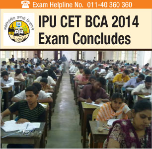 IPU CET BCA 2014: Offline Exam Concludes on May 10