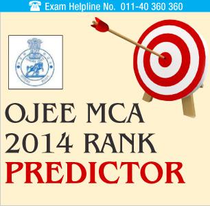 OJEE MCA 2014 Rank Predictor