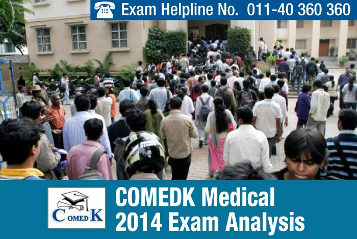 COMEDK UGET Medical 2014 Exam Analysis