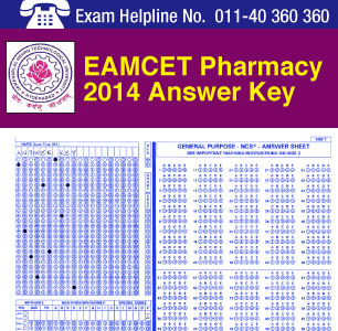 EAMCET Pharmacy 2014 Answer Key
