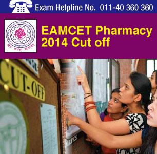 EAMCET Pharmacy 2014 Cutoff