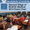 Second Stage of BCECE Medical 2014 Exam Over!