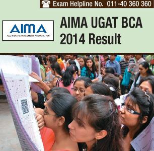 AIMA UGAT BCA 2014 Result