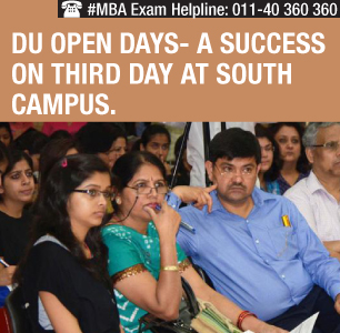 DU Open Days- Students ask admission queries at houseful session
