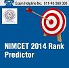 NIMCET 2014 Rank Predictor