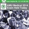AMU Medical 2014 written exam concludes on May 27