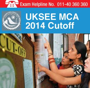 UKSEE MCA 2014 Cutoff