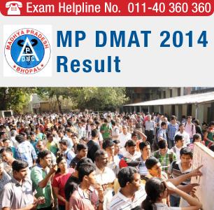 MP DMAT 2014 Result