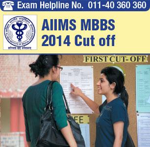 AIIMS MBBS 2014 Cutoff
