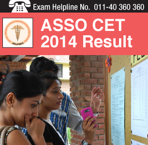 ASSO CET 2014 Result