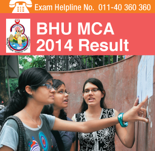 BHU MCA 2014 Result