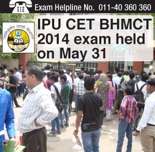 IPU CET BHMCT 2014: Written exam held on May 31