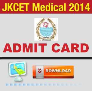 JKCET Medical 2014 Admit Card